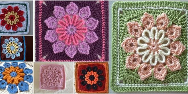 crochet 10 petal