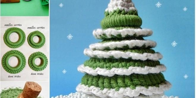 crochet Christmas tree DIY F2