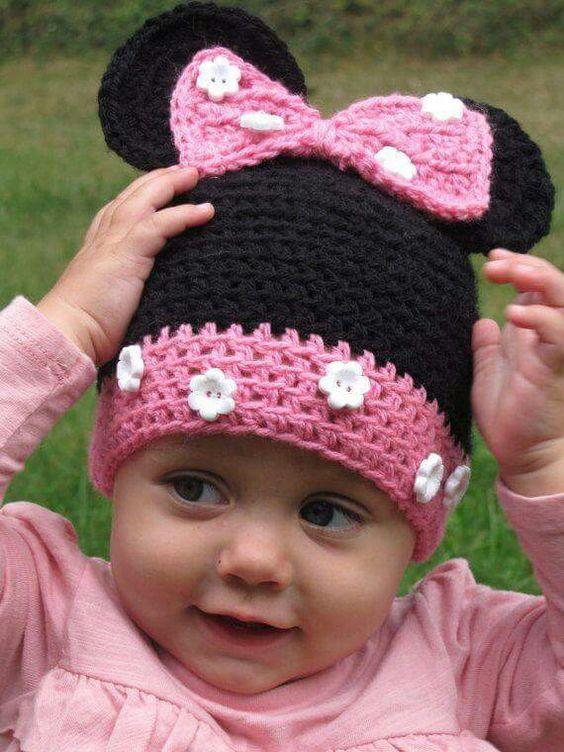 crochet Minnie Hat 2