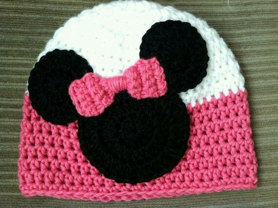 crochet Minnie Hat 4
