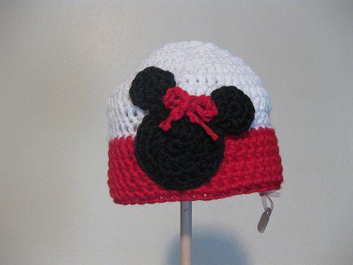 crochet Minnie Hat 7