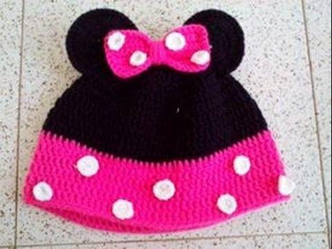 crochet Minnie Hat 8