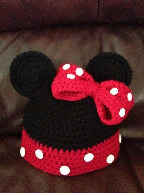 crochet Minnie Hat