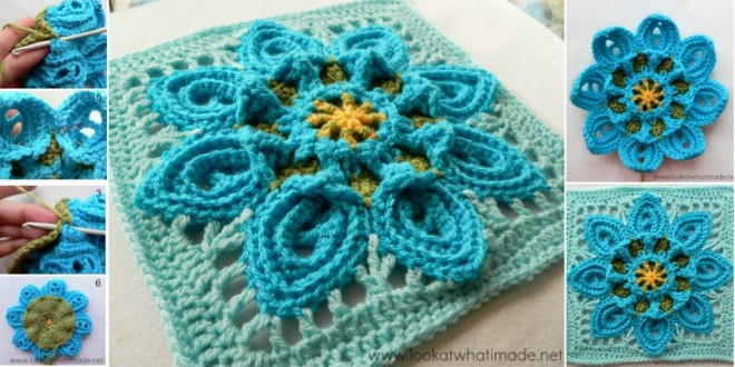 crochet Puritans Square