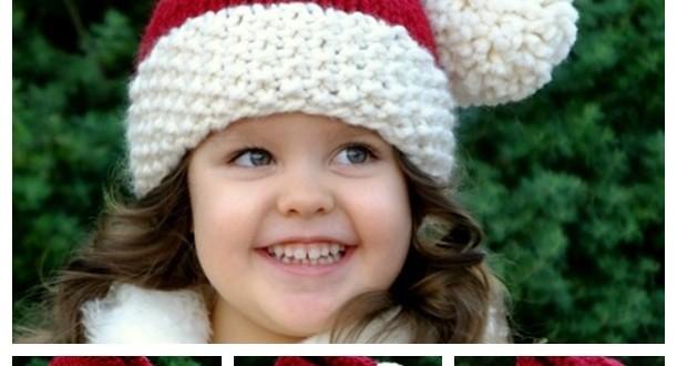 crochet Santa Baby Hat free pattern wonderful DIY
