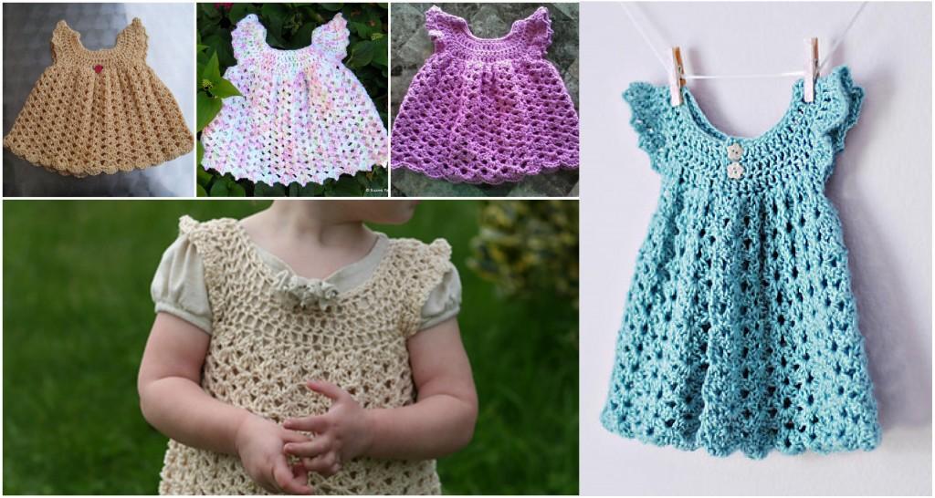 Free Crochet Angel Wing Dress Pattern : Crochet Angel Wings Pinafore