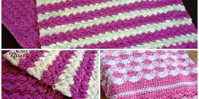 crochet baby blanket marshmellow