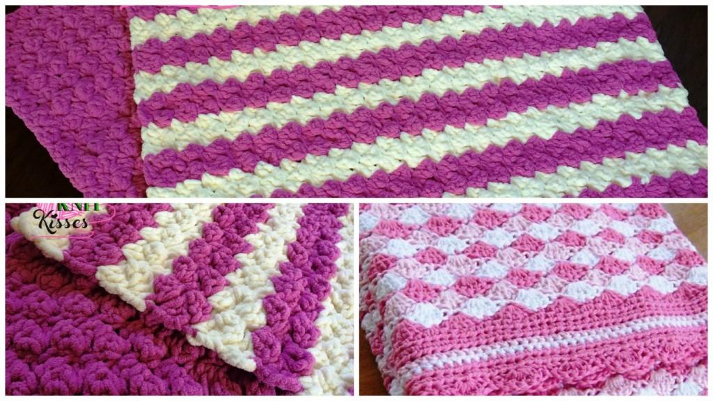 Marshmallow Crochet Baby Blanket Pattern Free : Crochet Marshmallow Baby Blanket