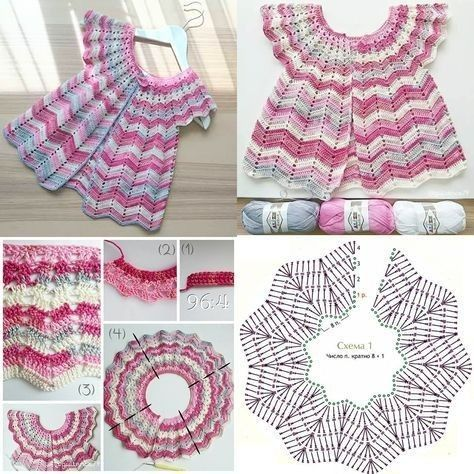 crochet baby clothes patterns 1