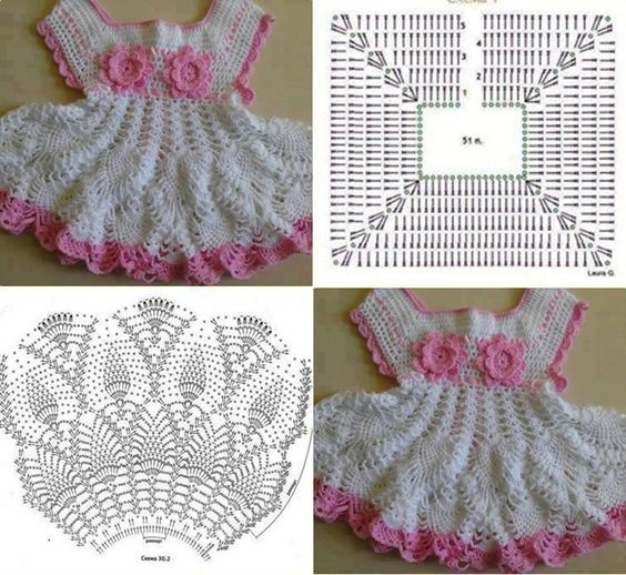 crochet baby clothes patterns 4