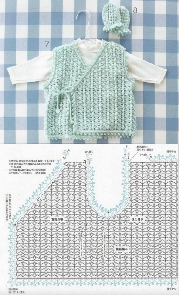 crochet baby clothes patterns 5