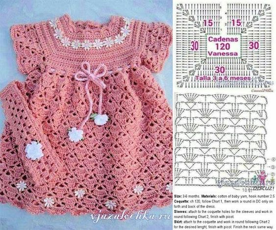 crochet baby clothes patterns 8
