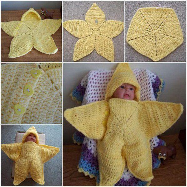 crochet baby cocoon 1