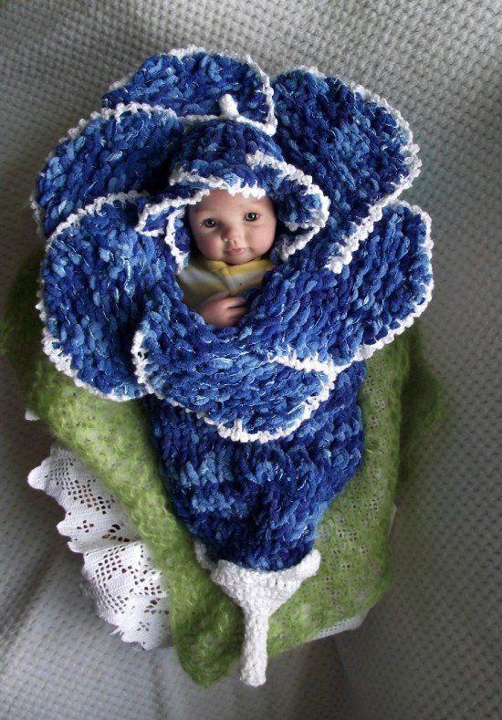 crochet baby cocoon 2