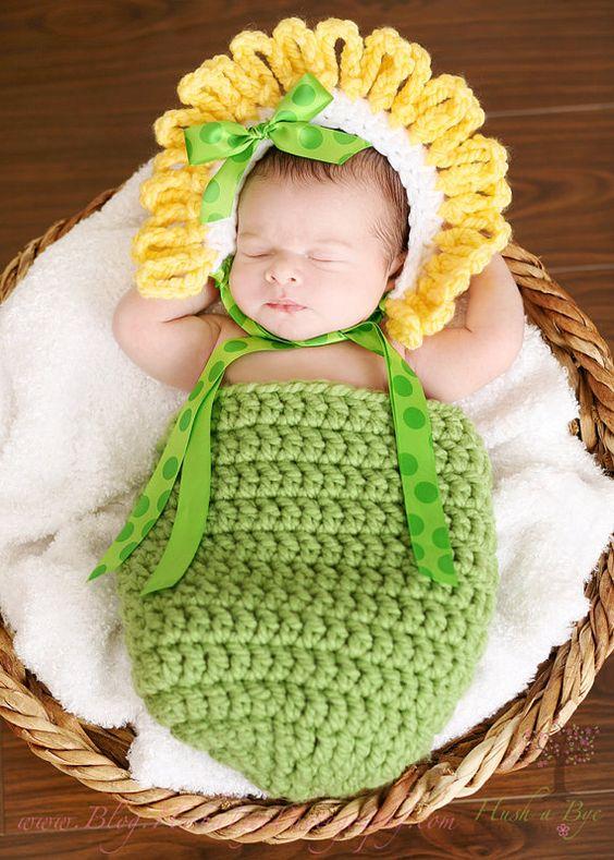 crochet baby cocoon 3