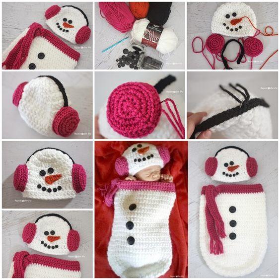 crochet baby cocoon 5