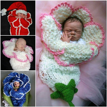 crochet baby cocoon 6