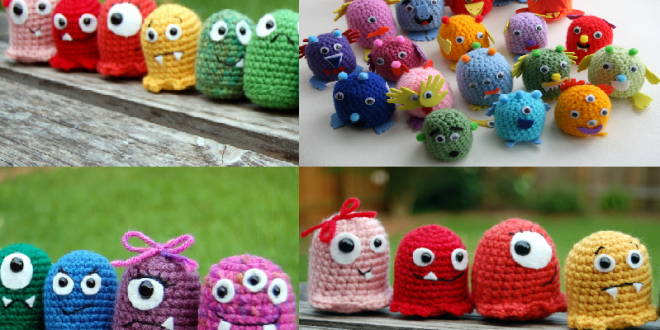 crochet baby monsters