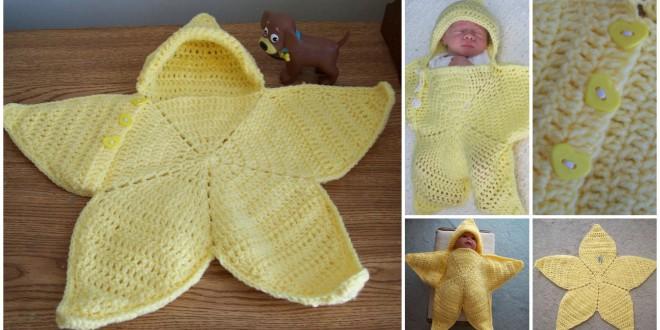 crochet baby star