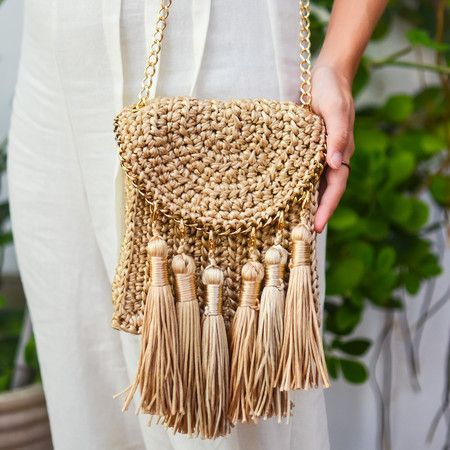 crochet bags with fringe 7