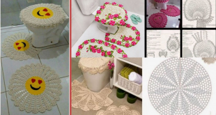 crochet bathroom rugs patterns ideas