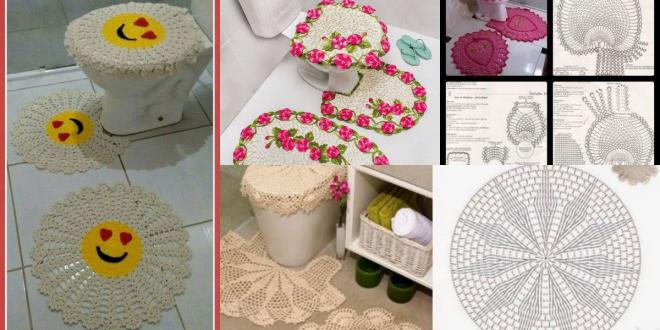 crochet bathroom rugs patterns ideas