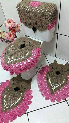 crochet bathroom rugs patterns ideas 7