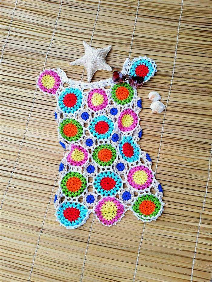crochet beach cover up 10