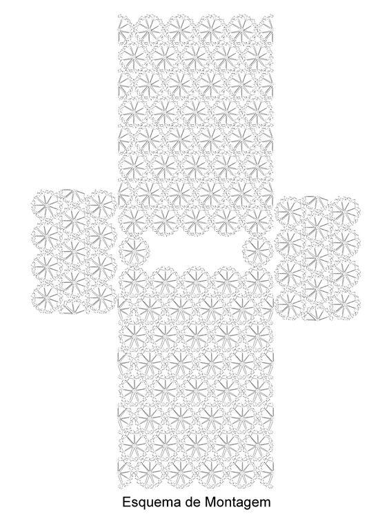 crochet beach cover up 7