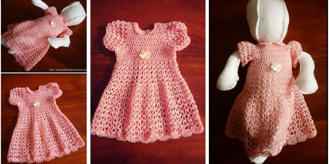 crochet beautiful dress