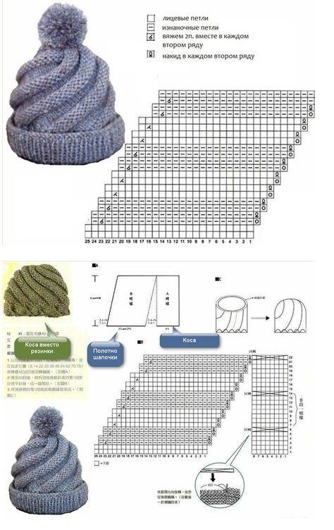 crochet beret tutorial 9