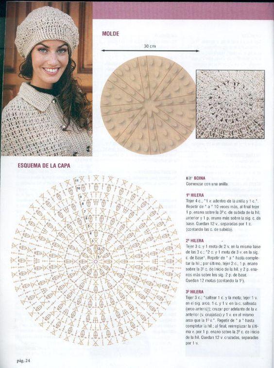 crochet beret tutorial