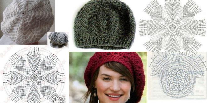crochet beret tutorials