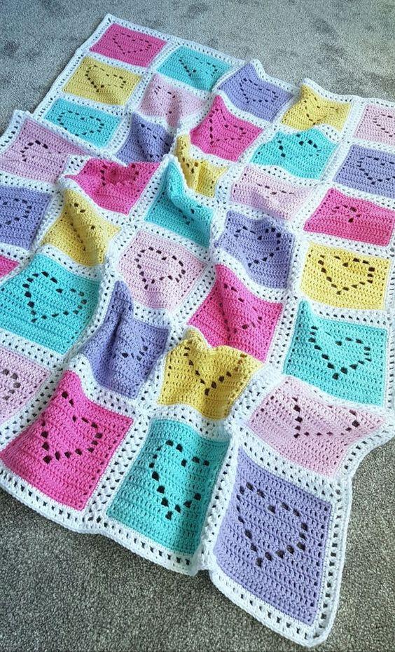 crochet blanket for babies 6