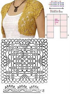 crochet bolero tutorial ideas 4