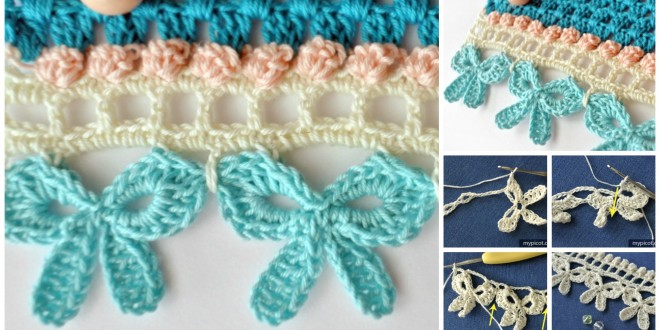 crochet bow edge