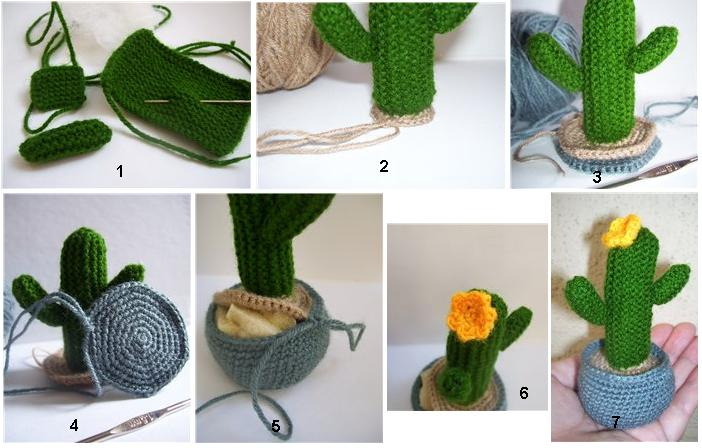 crochet cactus ideas 1