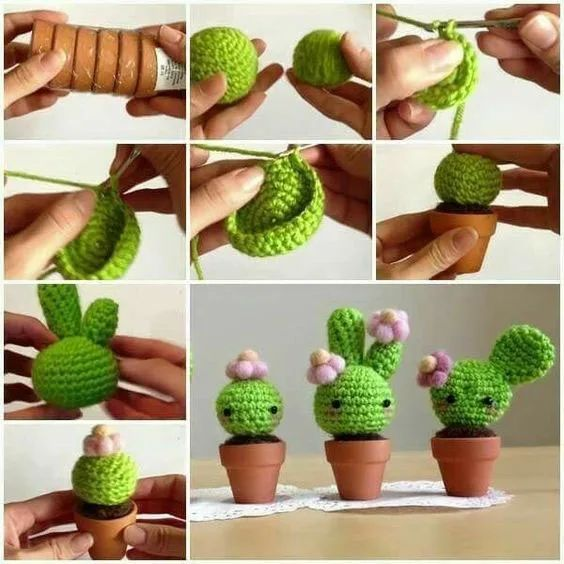 crochet cactus ideas 11