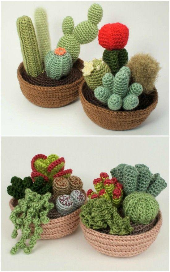 crochet cactus ideas 13