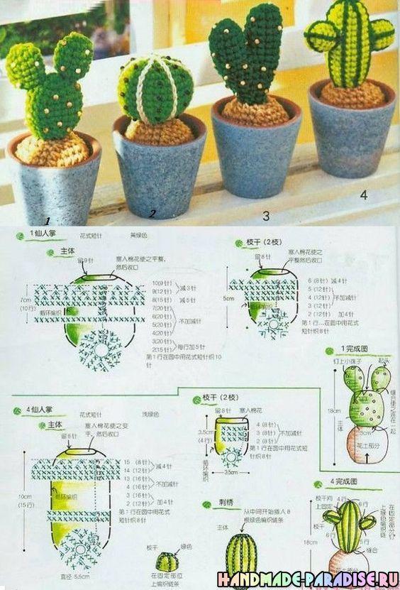 crochet cactus ideas 16