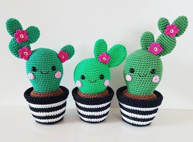 crochet cactus ideas