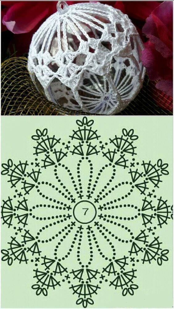 crochet christmas ball ornaments ´11