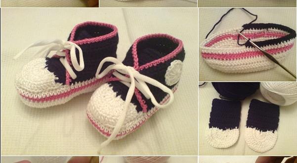crochet converse sneakers