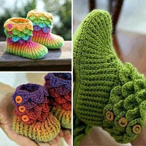 crochet crocodile stitch 2