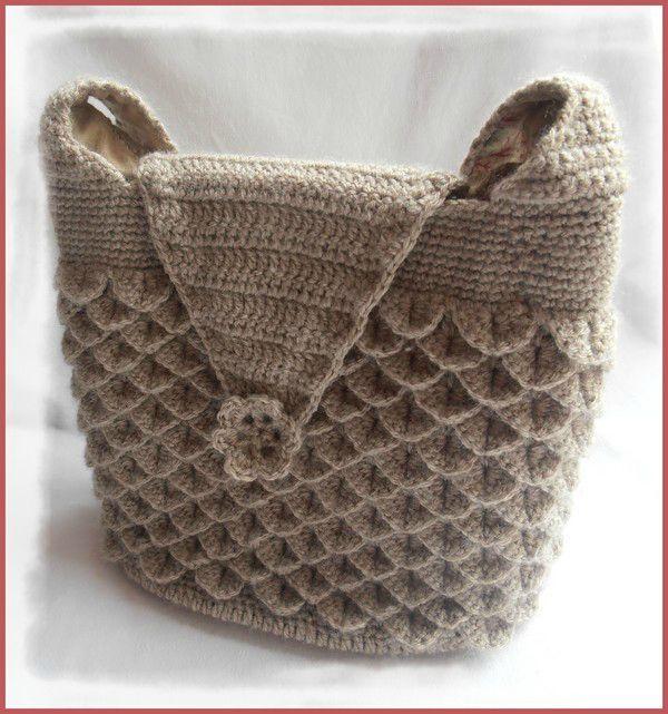 crochet crocodile stitch 9