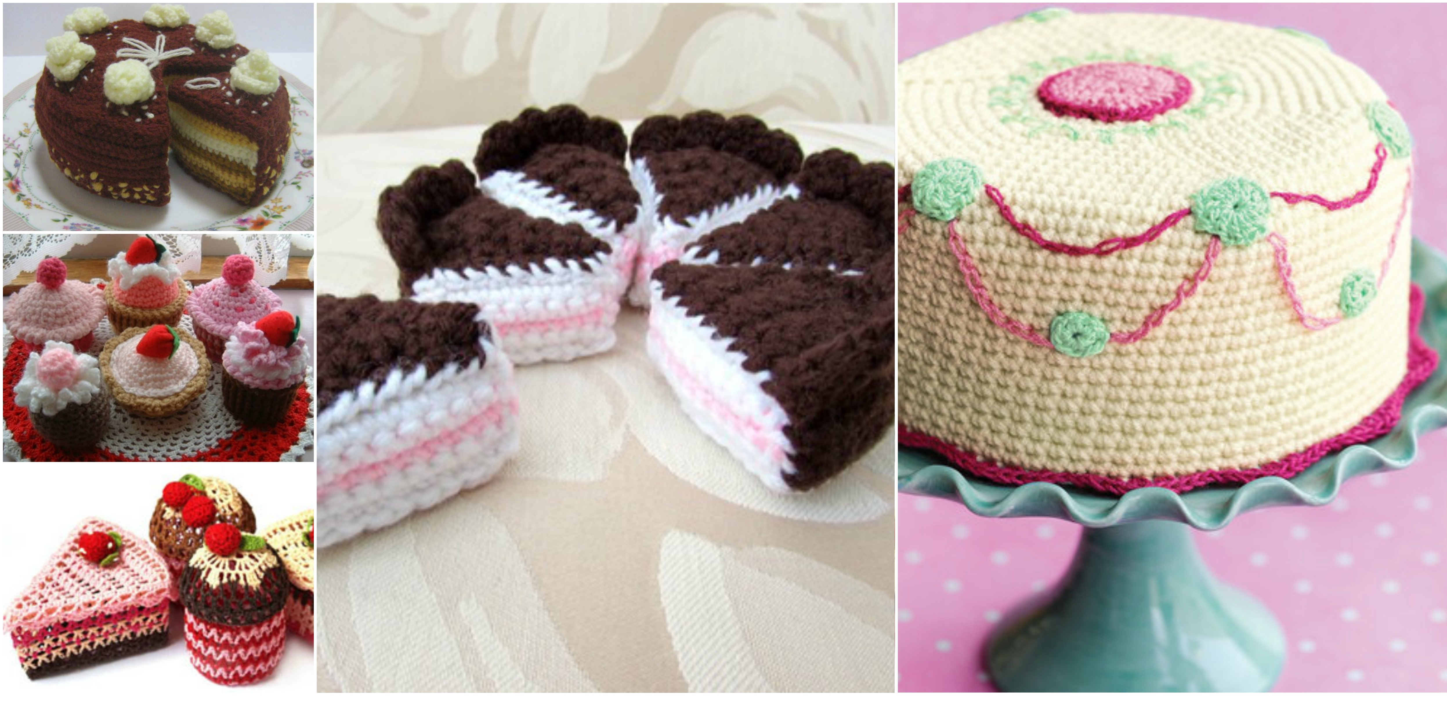 Crochet Cake And Cupcakes