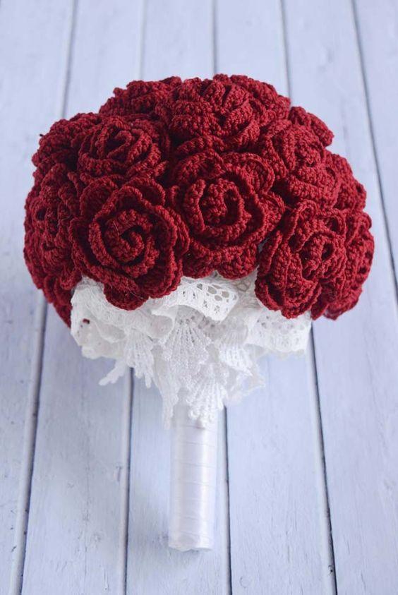 crochet decoration for wedding 12