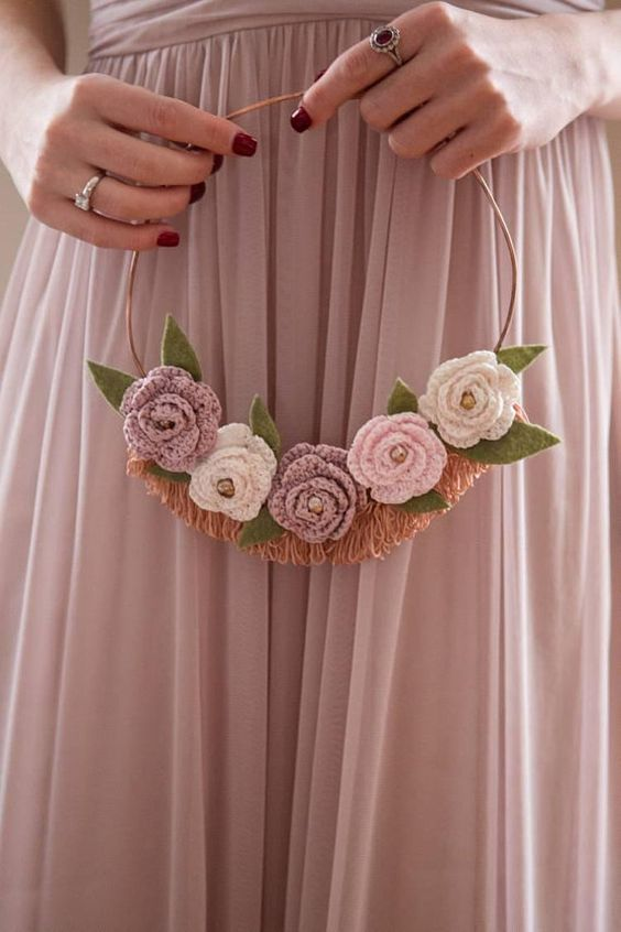 crochet decoration for wedding 9