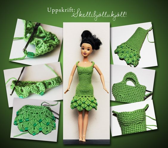 crochet doll dress ideas 1