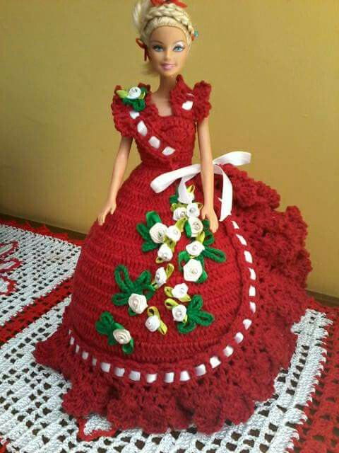 crochet doll dress ideas 5